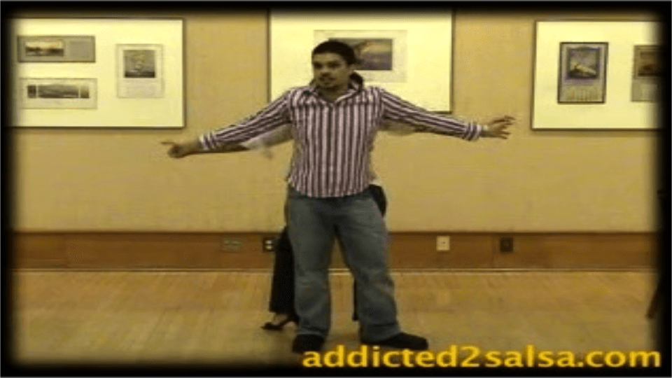 Getting out of Two-Handed dance holds Salsa Dance Video