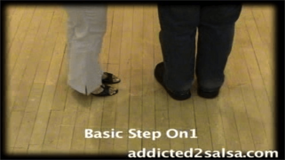 Free Salsa Dance Lesson : Salsa Basic Step Salsa Dance Video