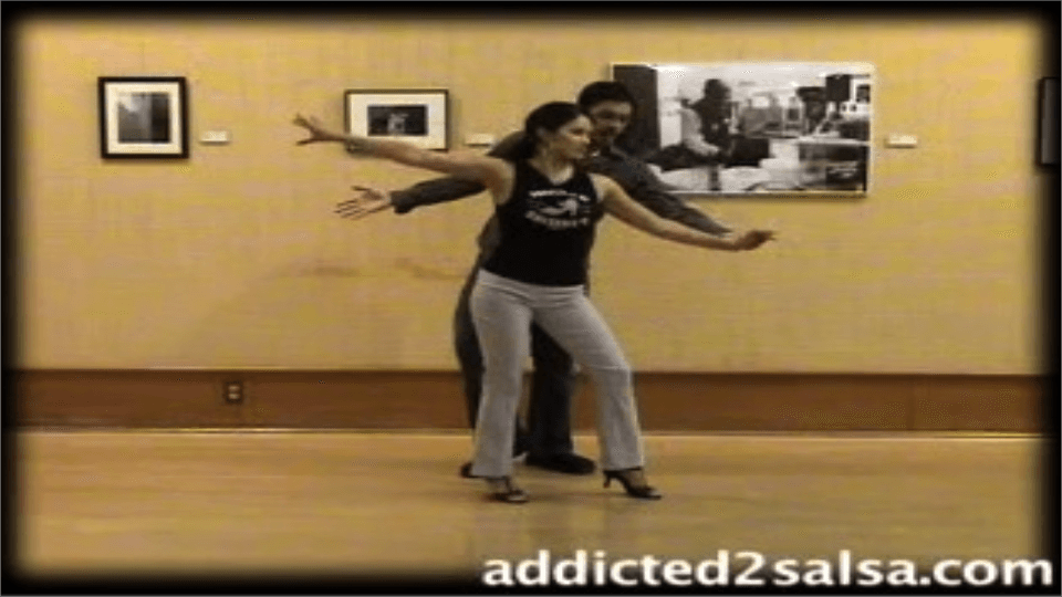 Kurze Stride Salsa Tanzen Bewegen Salsa Dance Video