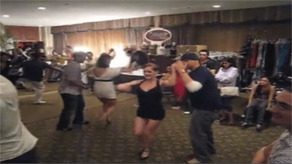 Bailando Salsa en Los Angeles Salsa Congress 2007 Salsa Dance Video