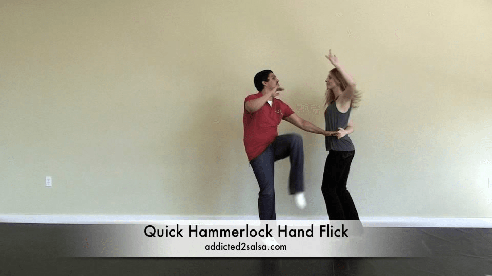 Basic Salsa zu tanzen Armschraube Hand Flick Salsa Dance Video