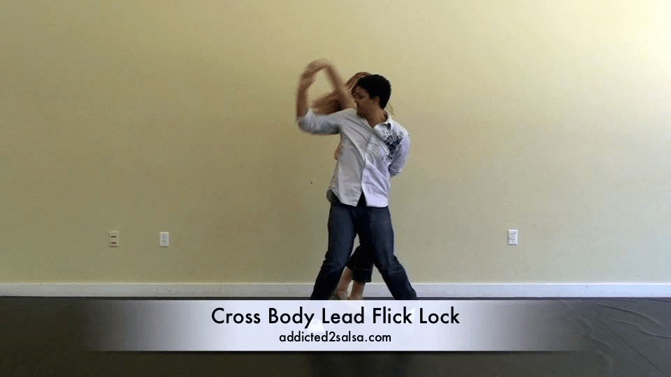 Cross Body Lead Flick Lock Salsa Dance Video
