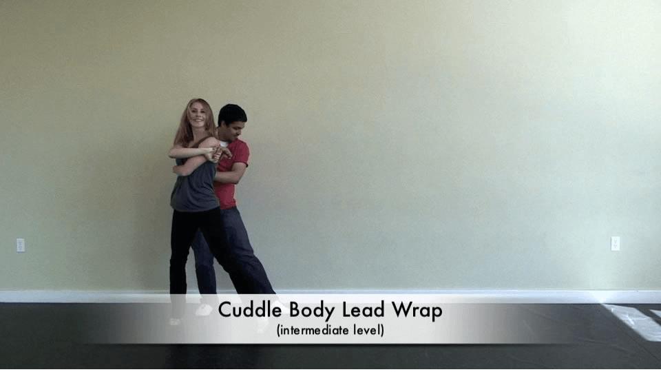 Movida de salsa intermediate llamada 'cuddle' Salsa Dance Video