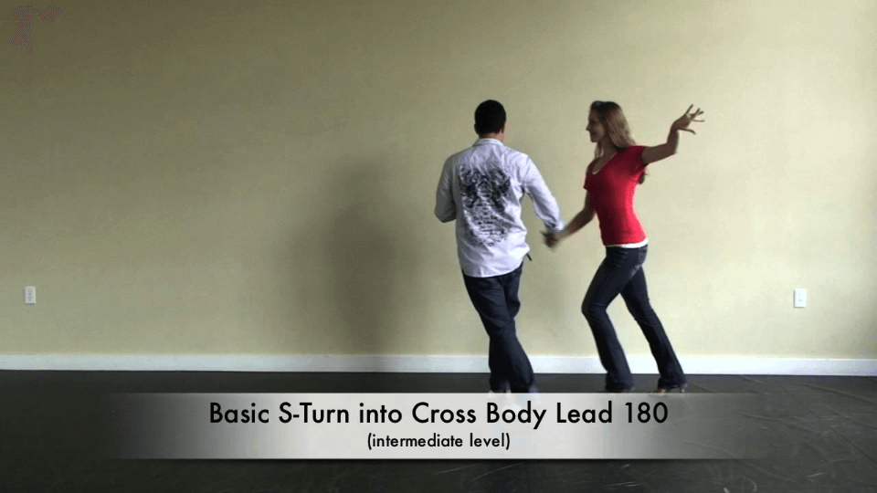 Salsa Dancing S-Turn Combo Salsa Dance Video