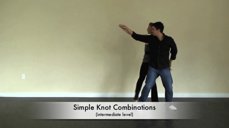 noeud combinaisons de danse latine Salsa Dance Video