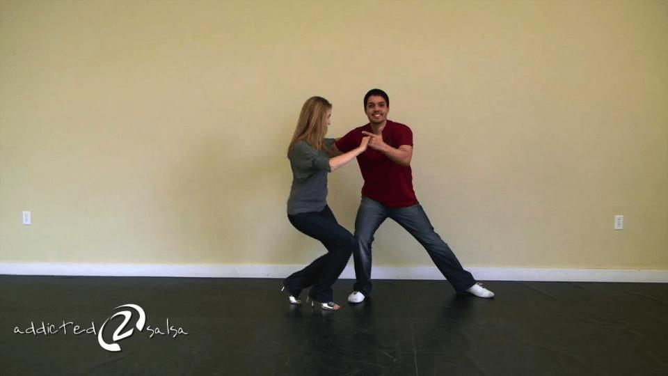 Salsa zu tanzen und Romantik für Paare Salsa Dance Video