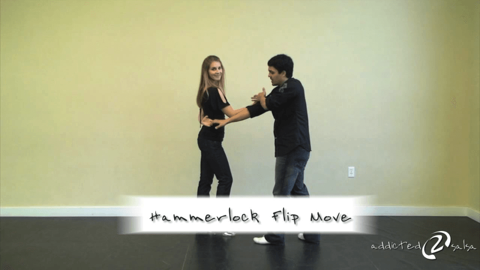 The Hammerlock Flip Move Salsa Dance Video