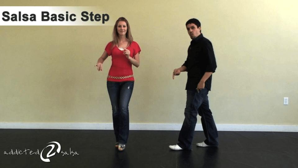 a dançar salsa etapa básica Salsa Dance Video