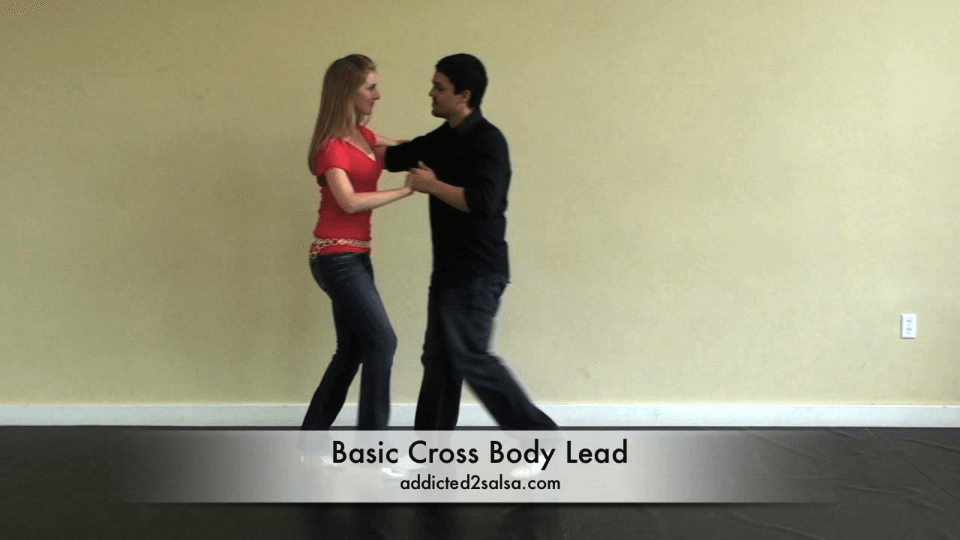 Basic Cross Body Lead in Salsa Salsa Dance Video