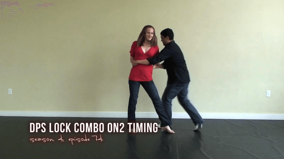 dps lock Combo On2 mit Damen-Styling Salsa Dance Video