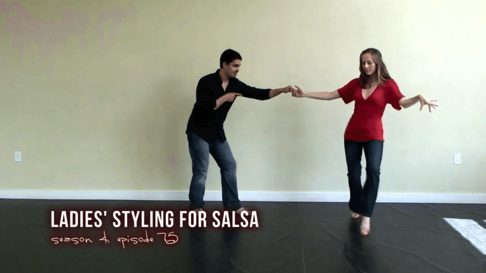 More Ladies Styling for Salsa Dancing Salsa Dance Video