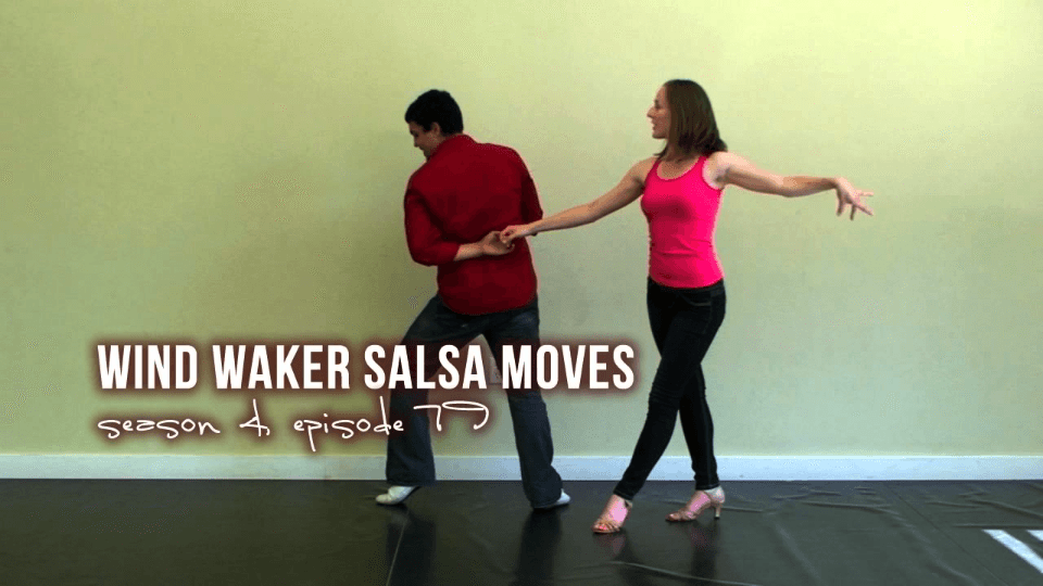 vento dança salsa waker move Salsa Dance Video