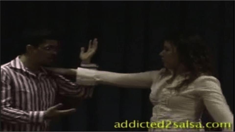 Double-Hand Turn and the Hand-Flip Salsa Dance Video