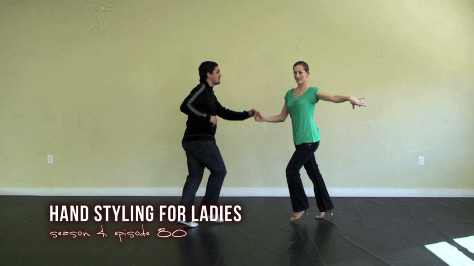 Ladies Hand Styling for Salsa Dancing Salsa Dance Video