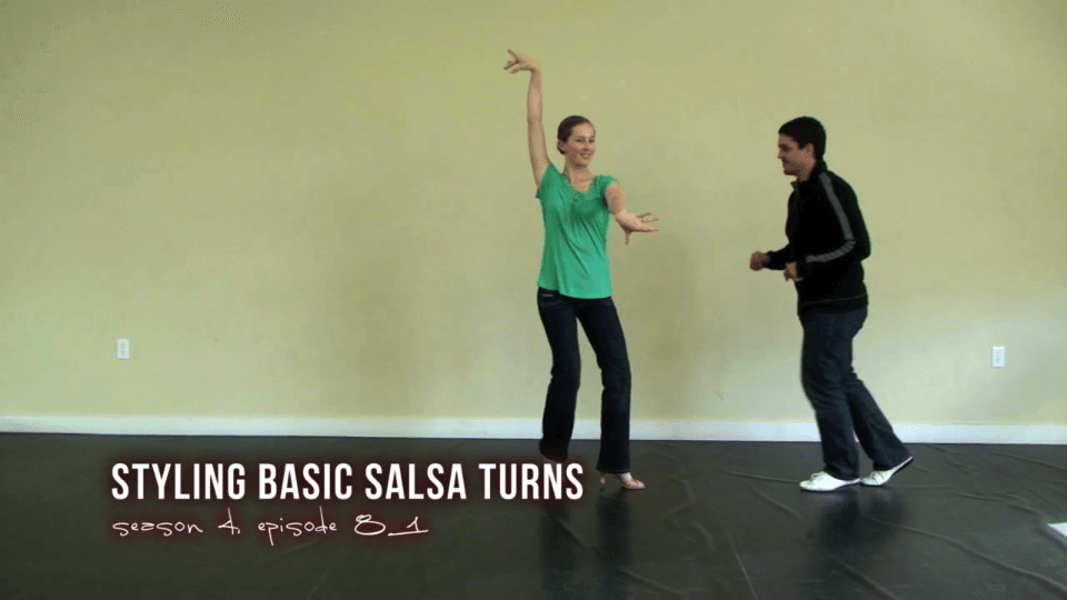 Styling for Basic Salsa Turns Salsa Dance Video