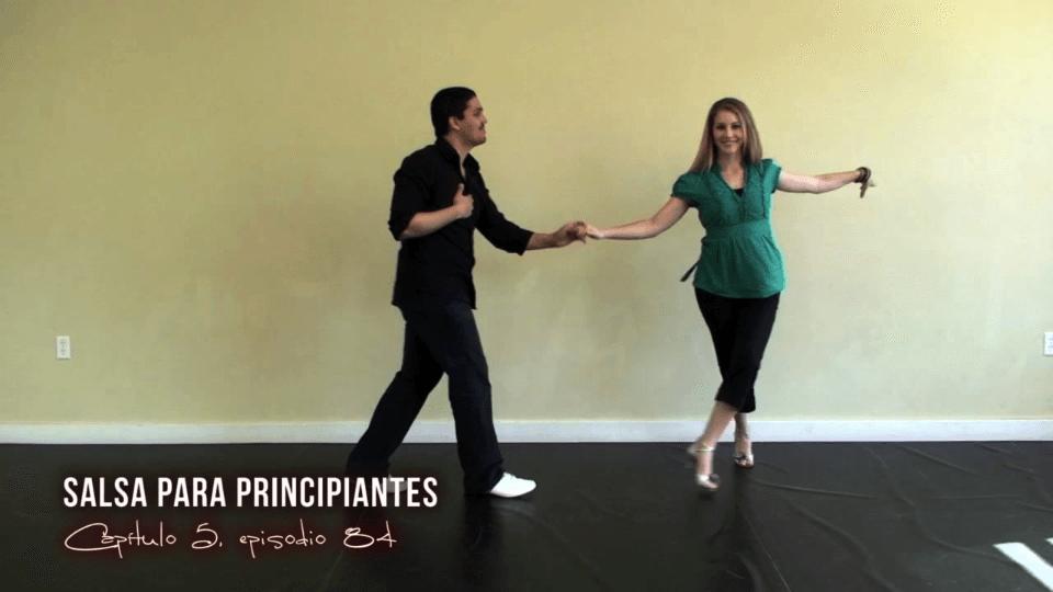 Schritte zum Salsa lernen. Salsa Dance Video