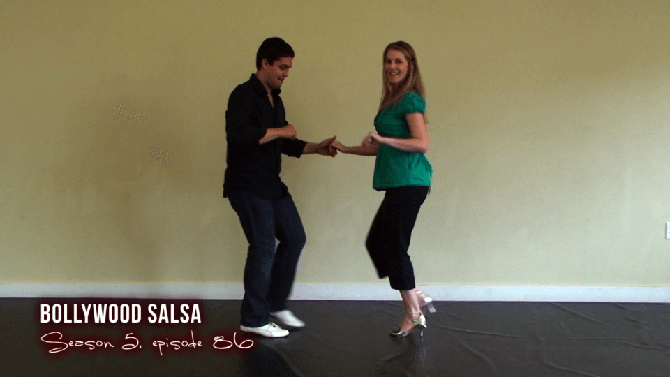 bollywood dançando salsa Salsa Dance Video
