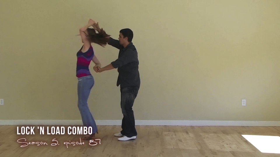 Lock-N-combo de carga Salsa Dance Video