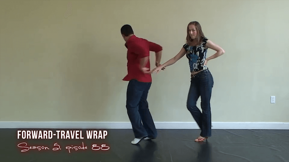 Forward Travel Salsa Wrap Salsa Dance Video