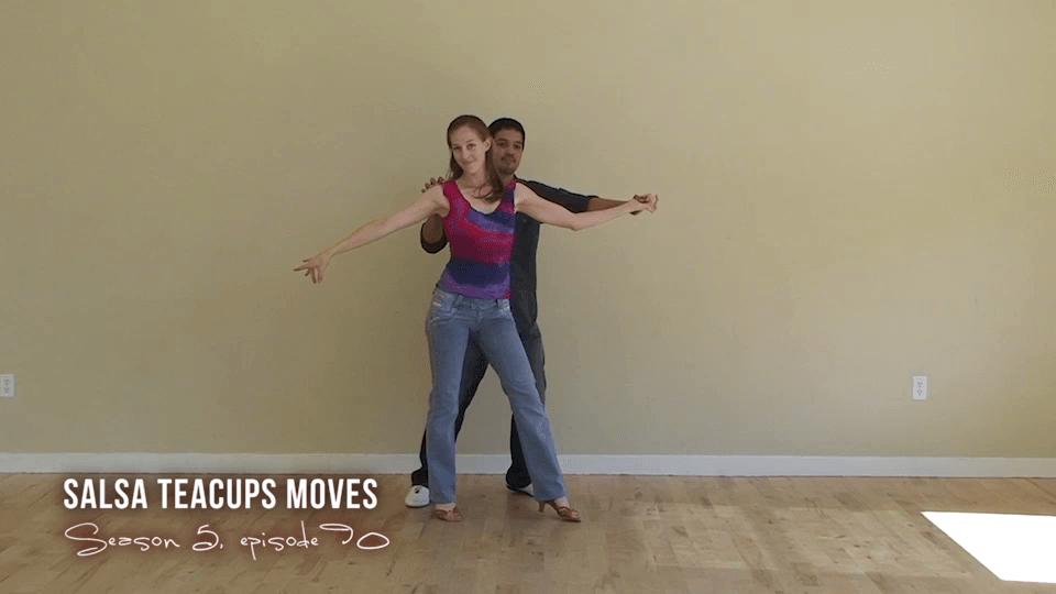Teacups Salsa Dance Move Salsa Dance Video
