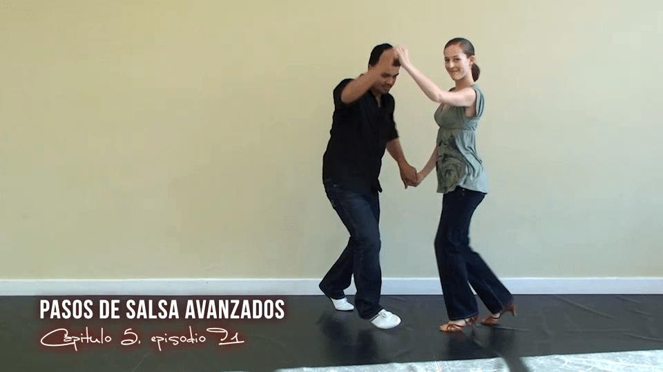 Aprender a Bailar Salsa - Pasos Avanzados Salsa Dance Video