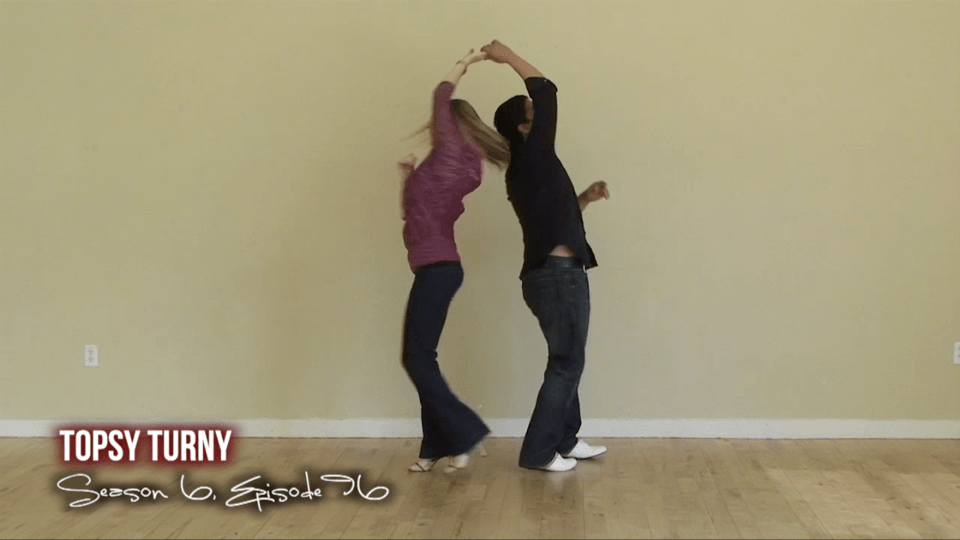 Vueltas de Salsa Topsy Turny Salsa Dance Video