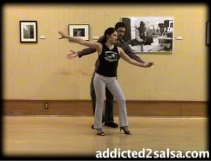 Salsa Dancing Short Stride Move Combo