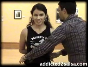 Salsa Dancing Hammer Lock Moves