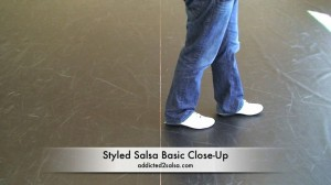 Styled Salsa Dance Basic Step