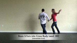 Salsa Dancing S-Turn Combo