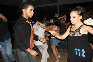 Ariel Perez and Burju Hurturk-Perez social dance