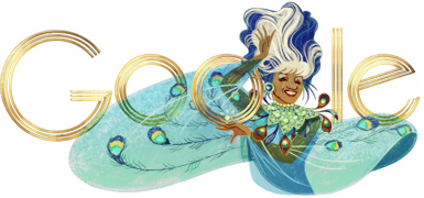¡Azúcar!, Google Celebrates Celia Cruz's Birthday!