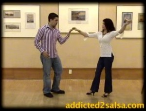 Some minor hand salsa dance techniques...