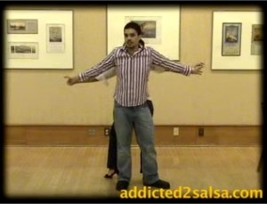Getting out of two-handed hand dance holds