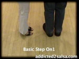 Learn how to do the Basic Steps of Salsa dancing