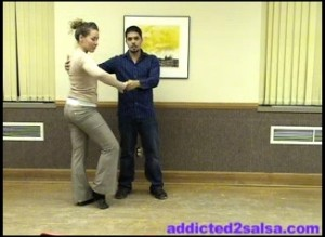 Learn to Dance Salsa : Basic CrossBody Lead and Some Dance Styling