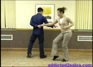 Slick Salsa Dance Pattern