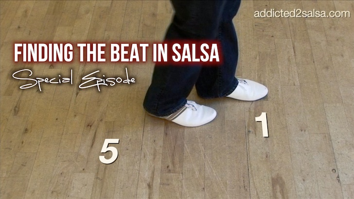 How to find the beat in salsa music visually