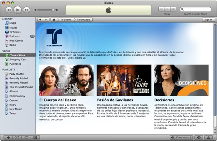Apple unveils the iTunes Latino Store