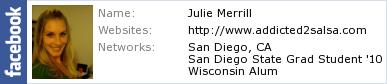 Julie's Facebook Profile