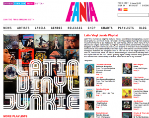New FANIA Records Website : Salsa Music Remastered!