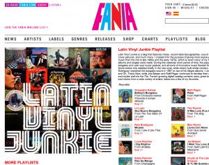 New FANIA Records Website : Salsa Music Remastered!