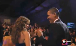 President Obama Dances Salsa