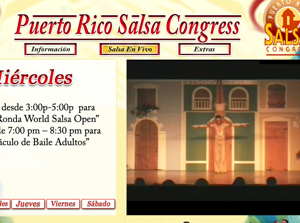 Live Stream of the Puerto Rico Salsa Congress 2008