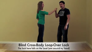 Salsa Dancing Lesson : Fun Loop-Over Locks