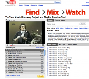 Salsa Music Video Playlists on YouTube!