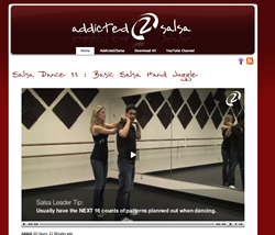 Salsa Dance Video Lessons Website