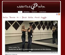 New Salsa Dance Video Website!